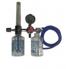 """Y-001 Увлажнитель кислорода """"МЕДИКА"""" с расходомером и редуктором. (Кислородный регулятор)."""
