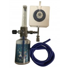 Y-002 Увлажнитель кислорода с расходомером и настенным газовым клапаном (кислородной розеткой)
