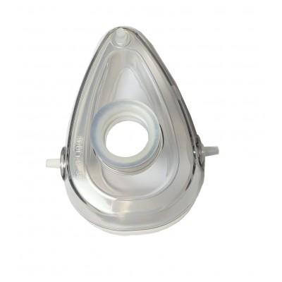 """TW8173 """"МЕДИКА"""" Силиконовая реанимационная маска для взрослых (покрытая поликарбонатом) №3."""