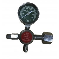 CR Oxygen gearbox with pressure gauge.