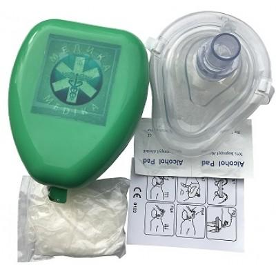 """TW8343 Безконтактнная маска """"МЕДИКА"""" для искуственого дыхания с аксесуарами."""