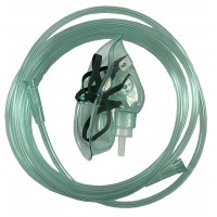 "TW 8346 Oxygen mask ""MEDIKA"" (М) with oxygen tube for adult"