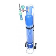 Oxygen cylinder (oxygen inhaler) in volume of 10 litres