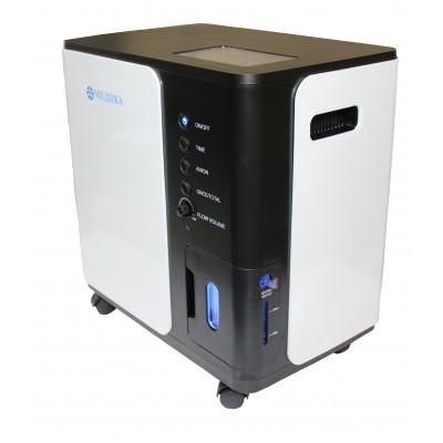 Медицинский кислородный концентратор «МЕДИКА» Y007-3 с опциями контроля концентрации кислорода, насыщения кислорода анионами «ANION» и пультом дистанционного управления