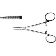 З-120 Straight hemostatic «Mosquito» forceps for newborn and early age infants 125mm.