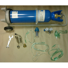 Oxygen cylinder (oxygen inhaler) in volume of 10 litres