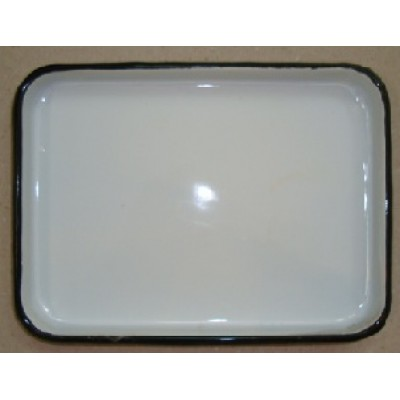 ЛУЭ-150 Rectangular tray enameled  150 x 200 x 15 mm.