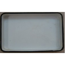 ЛУЭ-240 Rectangular tray enameled  240 x 180 x 30 mm.