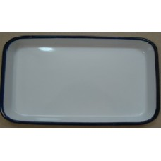ЛУЭ-300 Rectangular tray enameled  300 x 200 x 35 mm.