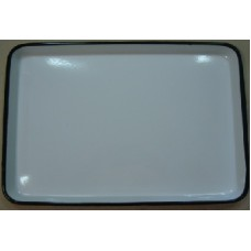 ЛУЭ-450 Rectangular tray enameled  450 x 350 x 33 mm.