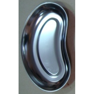 ЛОН-260 Kidney-shaped stainless steel tray 260 x 150 x 35 mm.