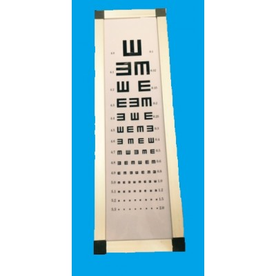 G005 Device for testing visual acuity.