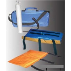 "КВМт  Tire set of polymer immobilization vacuum ""Medtech"" manual vacuum pump and transport bag."