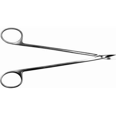 H-23 Scissors pointed vertically curved neurosurgical 160 mm.