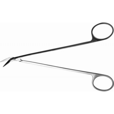 H-37 Scissors vascular horizontally curved 160 mm.