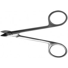 H-79 Scissors crowns vertically curved 125 mm.