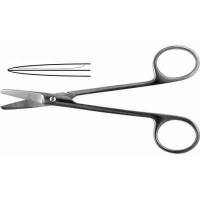 H-59 Surgical scissors straight 150 mm.