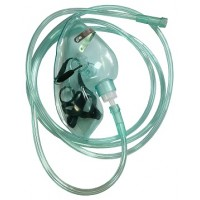 "TW 8344 Oxygen mask ""MEDIKA"" with oxygen tube for adult"