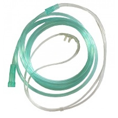 "TW8601-dt-S Nasal oxygen cannula ""MEDIKA"" size S for child 2 m length."