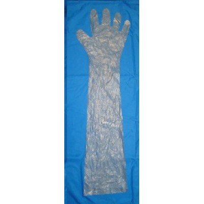 ПО Glove for disposable rectal examination.